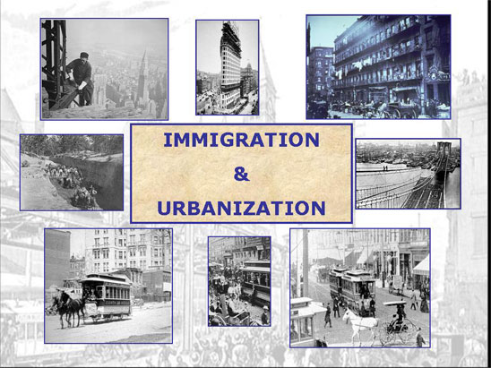 immgrants and irbanization In which john green teaches you about the massive immigration to the united states during the late 19th and early 20th century immigrants flocked to the.