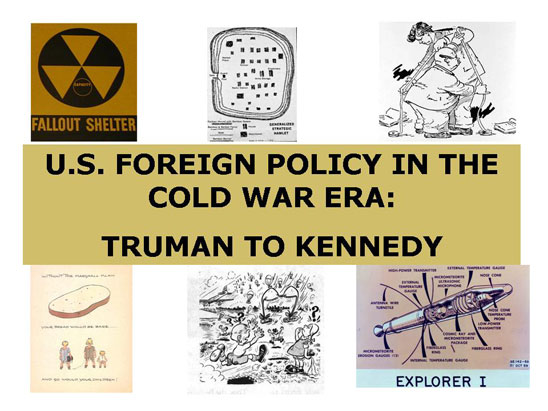 u.s foreign policy during the cold war essay Us foreign policy in chile and guatemala this essay will attempt to but also a portrayal of the wider us foreign policy agenda during the cold war.