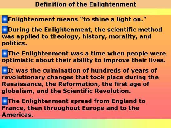 the scientific revolution on the enlightenment era essay